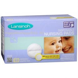 Lansinoh Disposable Nursing Pads 100count