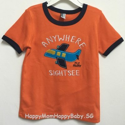 Tee Anywhere Sightsee Orange