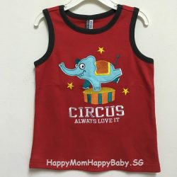 Sleeveless Circus Red