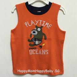 Sleeveless Oceans Playtime Orange