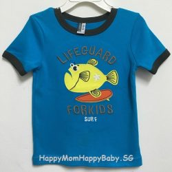 Tee LifeGuard Fish Blue