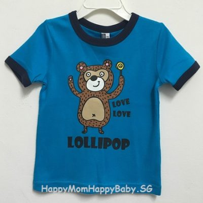 Tee Lollipop Monkey Blue
