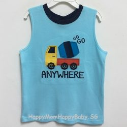 Sleeveless Anywhere Blue