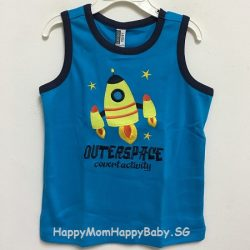 Sleeveless Outerspace Blue