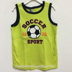 Sleeveless Soccer Yellow