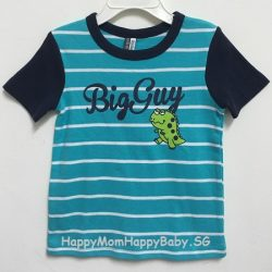 Tee Big Guy Strips Blue